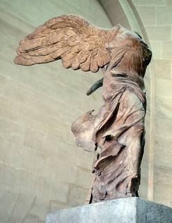 Nike of Samothrace from the left | by profzucker