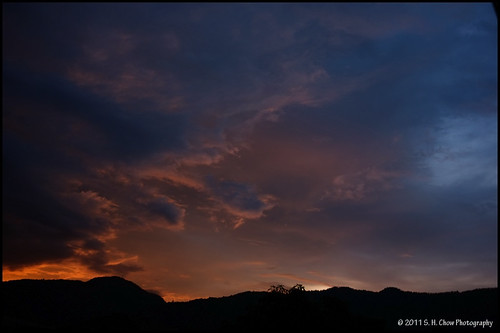 sunset sky cloud mood fuji hometown fujifilm x100 shchow sheuhauchow copyright2011sheuhauchowphotography