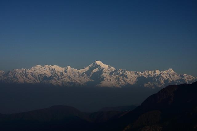 Mt. Kanchenzonga fron Lungthung