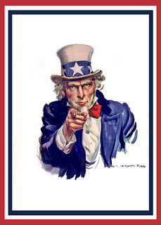 Uncle Sam I Want You - Poster No Words Centered | by DonkeyHotey