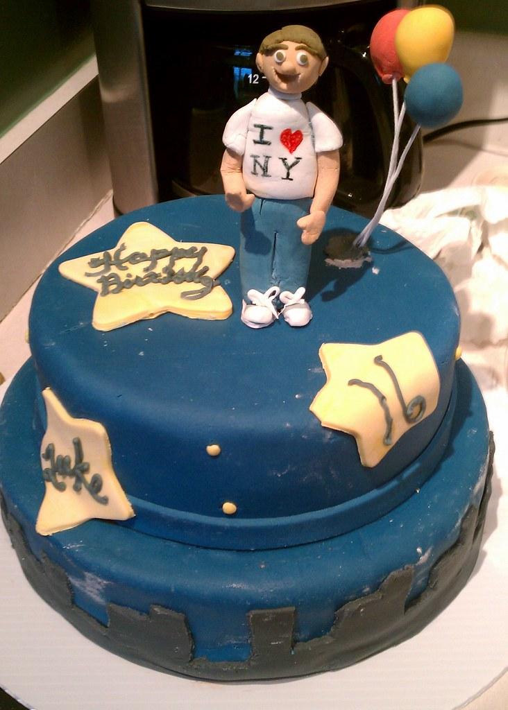 Lukes New York City Birthday Cake
