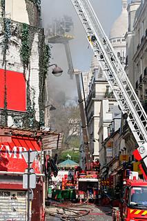 Incendie de l'Élysée Montmartre | by jastrow75