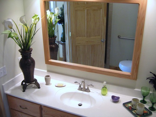 The Green Heron Room's ensuite bathroom   by Contentment on the Cove B&B