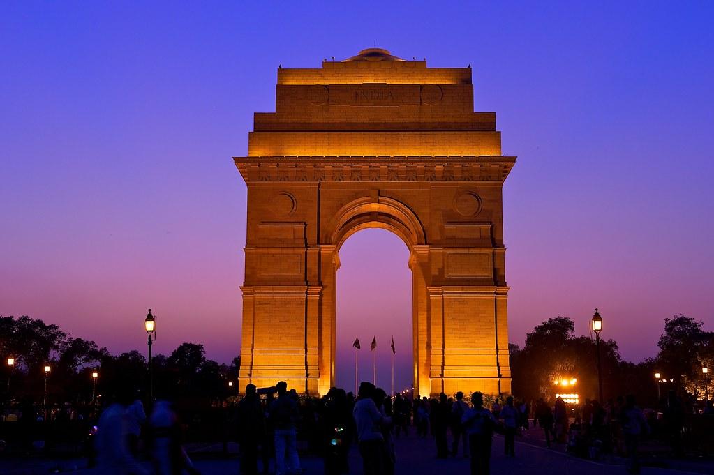 India Gate Tourist places in Delhi