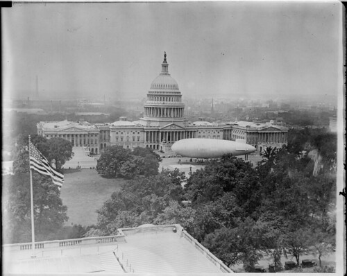 Blimp - U.S. Army at U.S. Capitol, Washington D.C.