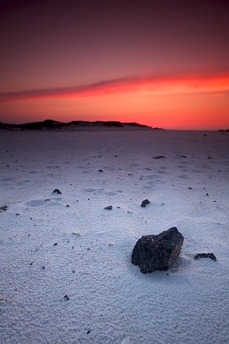sky usa beach rock sunrise sand florida pensacola martian