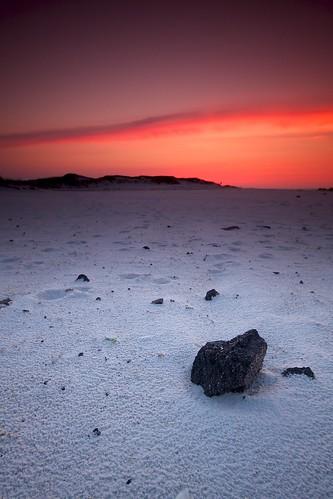 sky usa beach rock sunrise sand florida pensacola martian