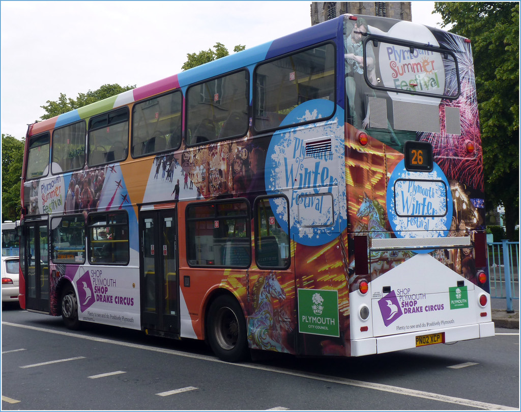 Plymouth Citybus 409 PN02XCP