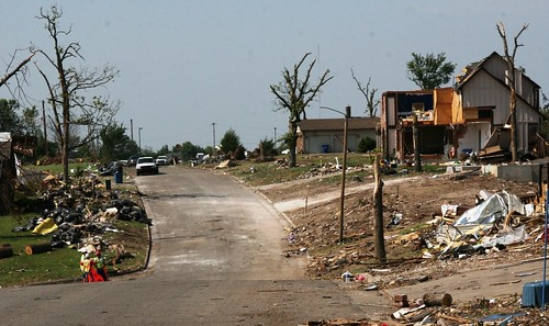 Cleared road after Joplin tornado | by Kansas City District