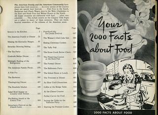 ephemera - Encyclopedic Cookbook, 1948, Chapter 1