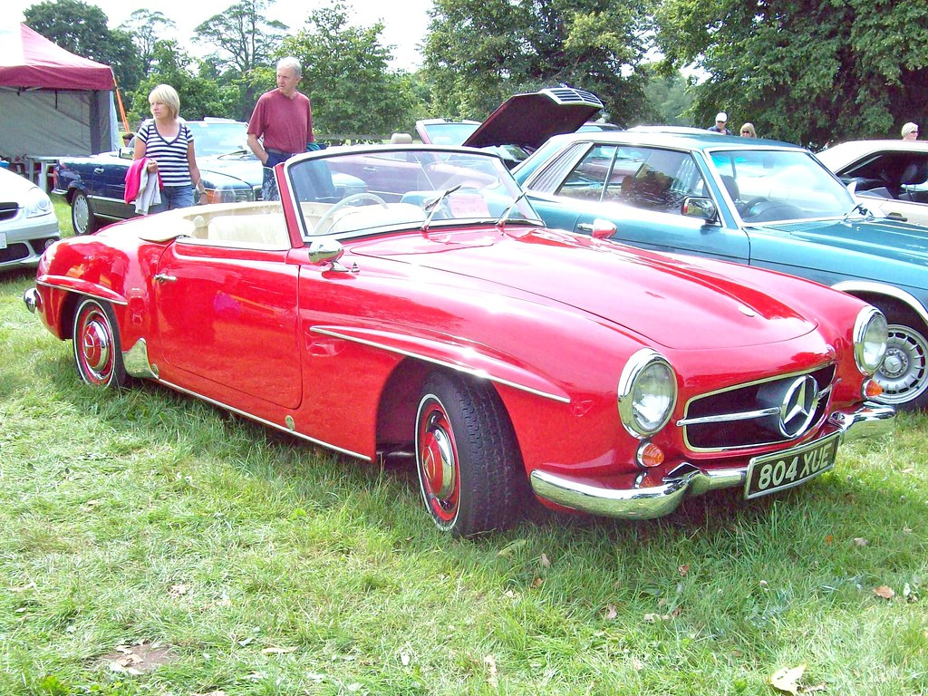 160 Mercedes 190sl Roadster 1955 63 Mercedes 190sl