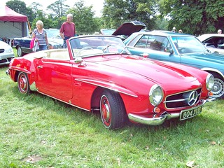 160 Mercedes 190sl Roadster 1955 63 Mercedes 190sl