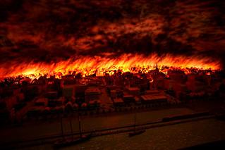 Chicago History Fire Diorama | by Kenneth Ristau