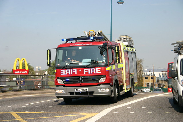 AE07HVM London Fire & Rescue