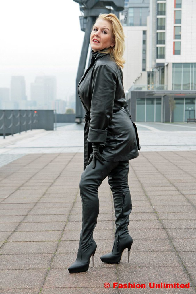 Women In Boots And Leather