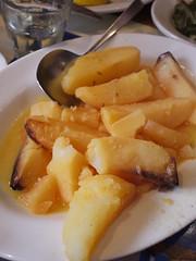火, 2011-04-19 12:28 - Taverna Kyclades: Lemon Potates レモンポテト