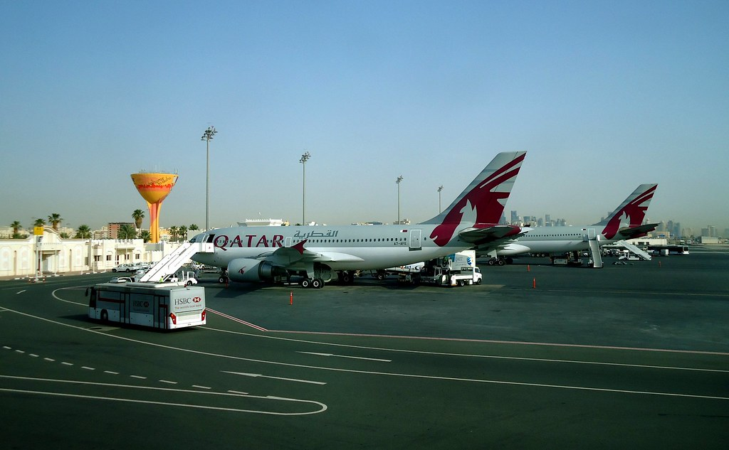 Doha Airport, Qatar | Stopover in Qatar on my way from Melbo