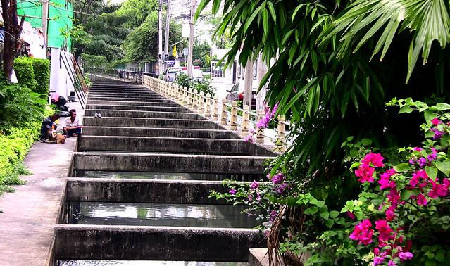 THAILAND-Bangkok , ehemalige Khlongs   - 4