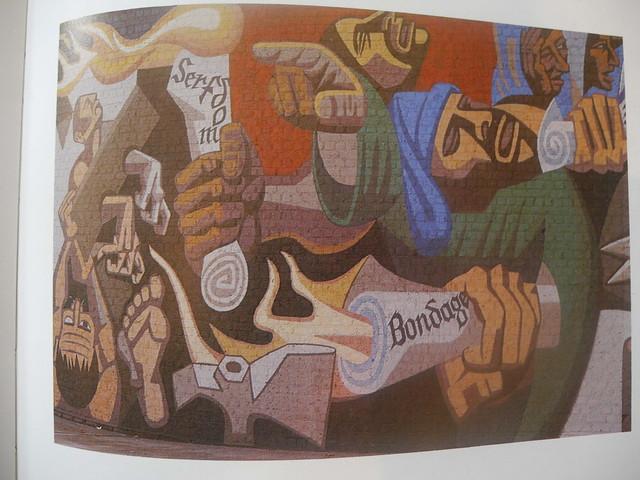Detail of Peasants Revolt Mural