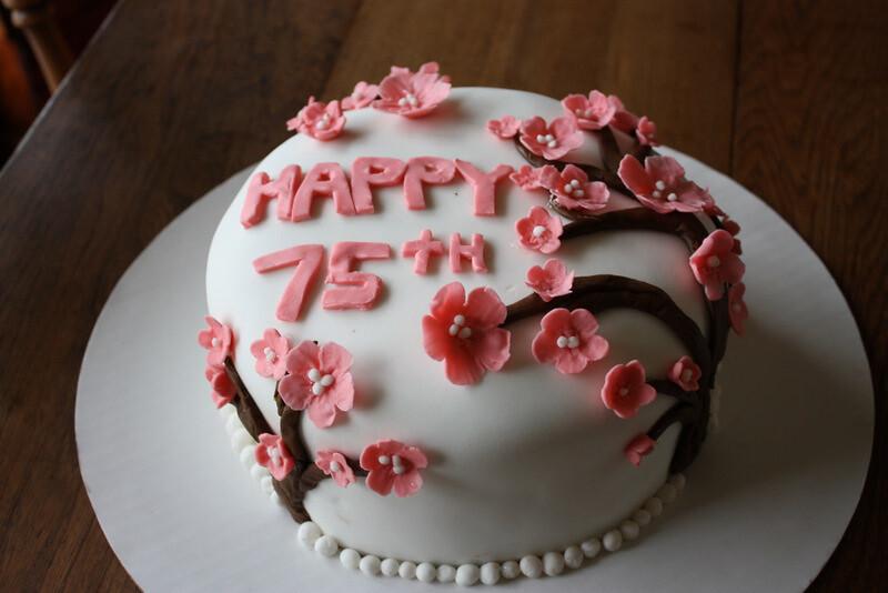 Terrific Grandmothers Birthday Cake Ashley May Flickr Funny Birthday Cards Online Kookostrdamsfinfo