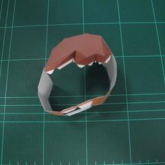 วิธีทำโมเดลกระดาษตุ้กตา คุกกี้สาวผู้ร่าเริง จากเกมส์คุกกี้รัน (LINE Cookie Run – Bright Cookie Papercraft Model) 006
