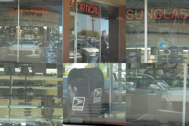 Reflections in Shop Windows