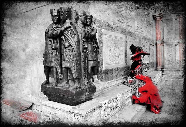 La dama rossa e i Tetrarchi