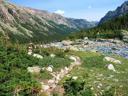 Near Gannett Peak   by LoneWolfMontana
