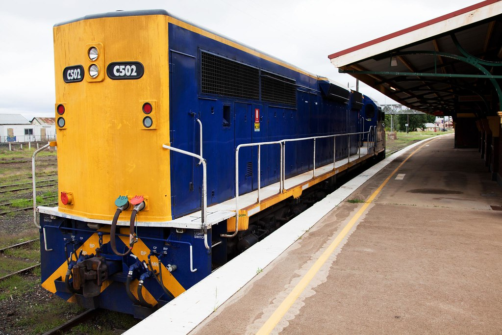 C502 at Goulburn by Trent