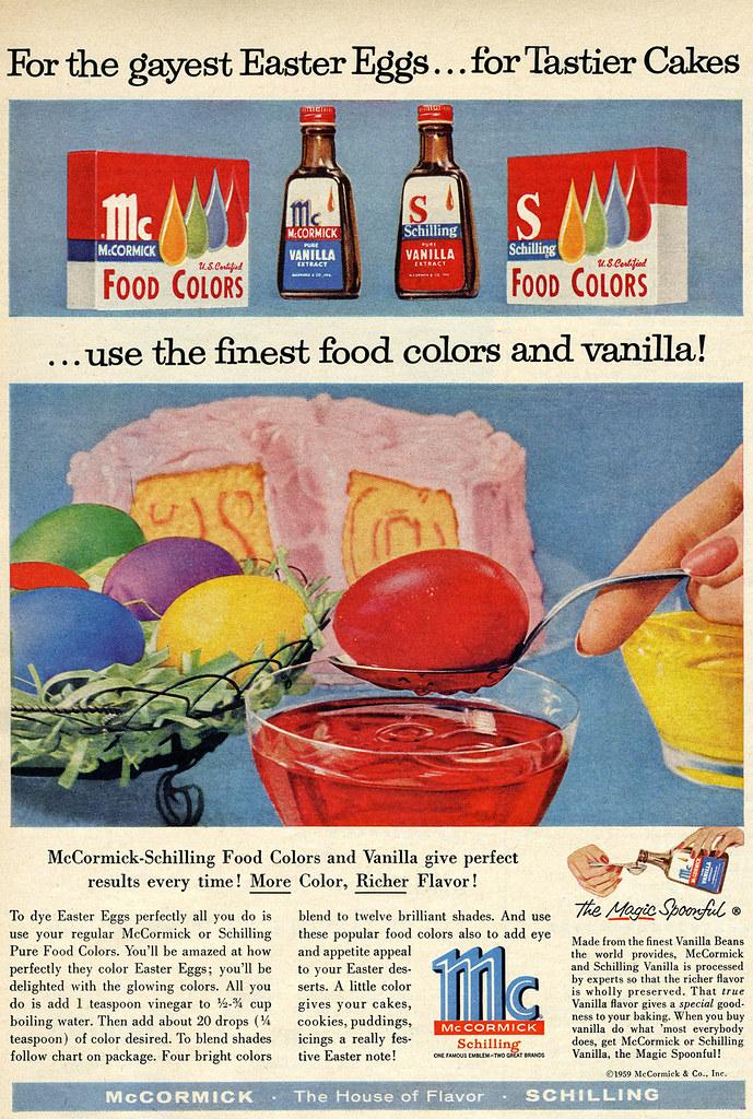 McCormick Easter food coloring | Shelf Life Taste Test | Flickr