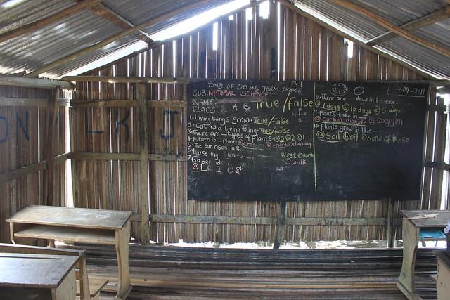 Village schoolhouse, Nzulezu