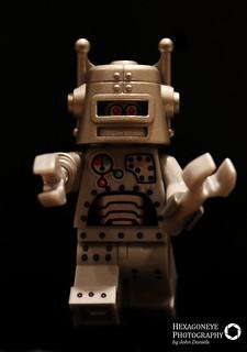 106/365 Lego Robot   by Hexagoneye Photography