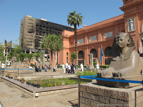egyptian museum with few crowds | by Downtown Traveler
