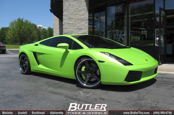 Lamborghini Gallardo With 20in Mint Custom Wheels Addition Flickr