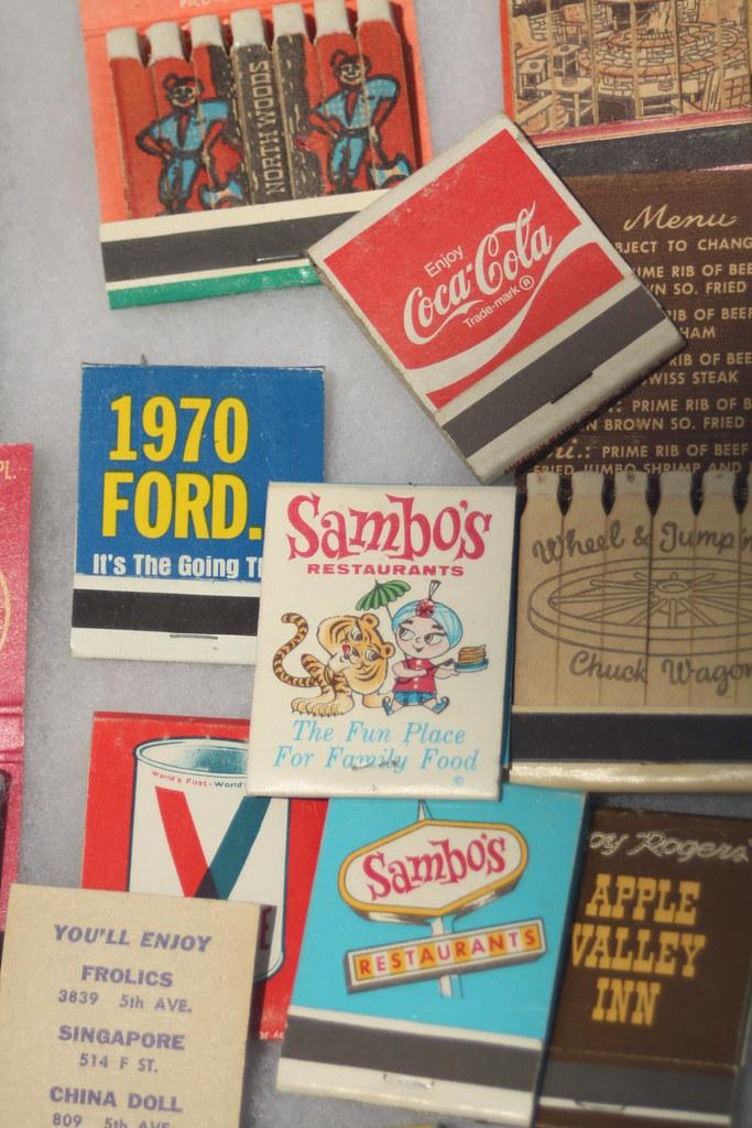Sambos Restaurant matchbook   Kerry   Flickr