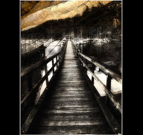 night stairs boats harbour saltspring zedzap
