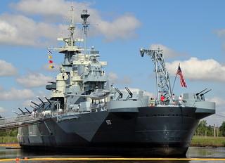 USS North Carolina Stern   by Mr.TinDC
