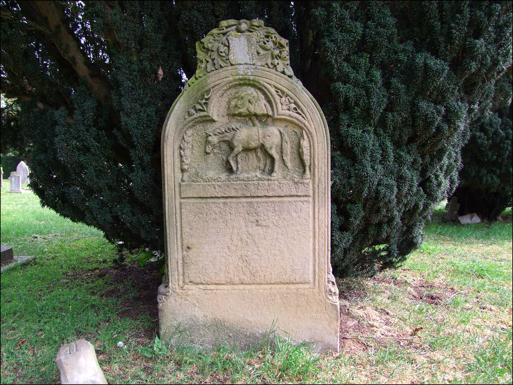 John Henderson And Henry The Horse Old Cemetery Ipswich Flickr
