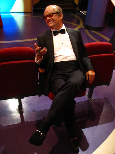 Jack Nicholson figure at Madame Tussauds Hollywood | by Castles, Capes & Clones