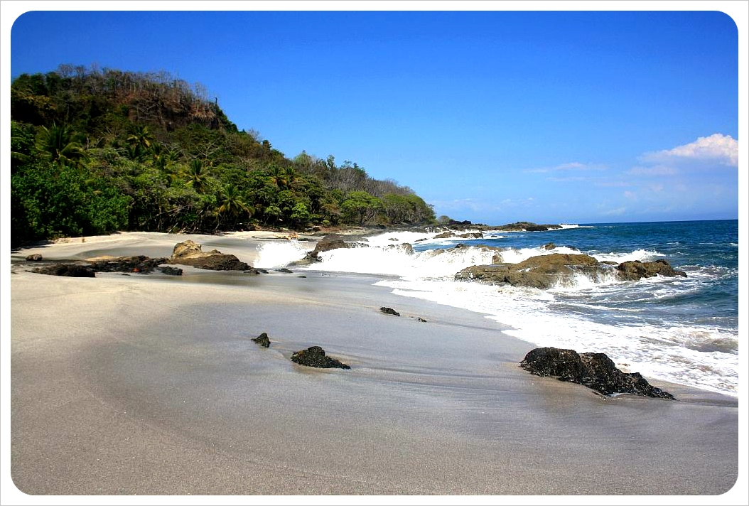 Montezuma beach & jungle
