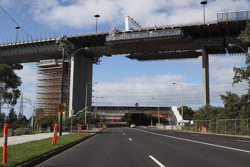 Work continuing on the West Gate Bridge upgrade project
