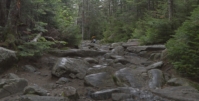 Maite in the White Mountains, New Hampshire (2016)