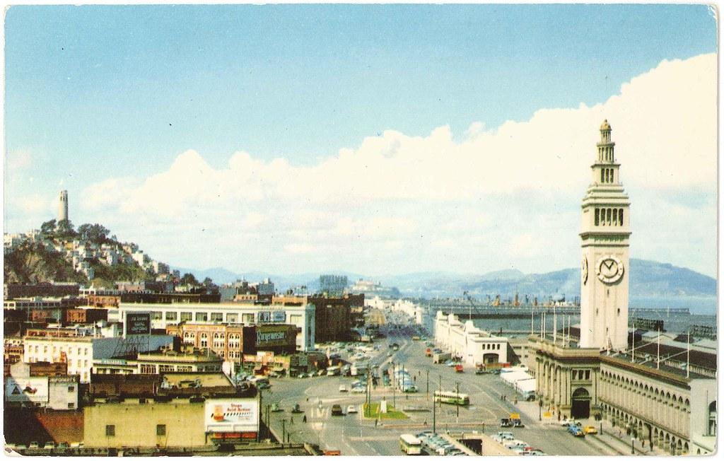 Embarcadero, San Francisco, California (1954?) |