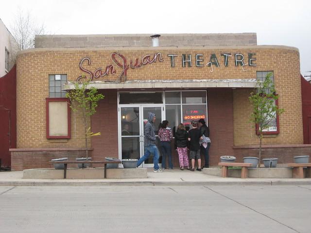 San Juan Theatre in Blanding, Utah