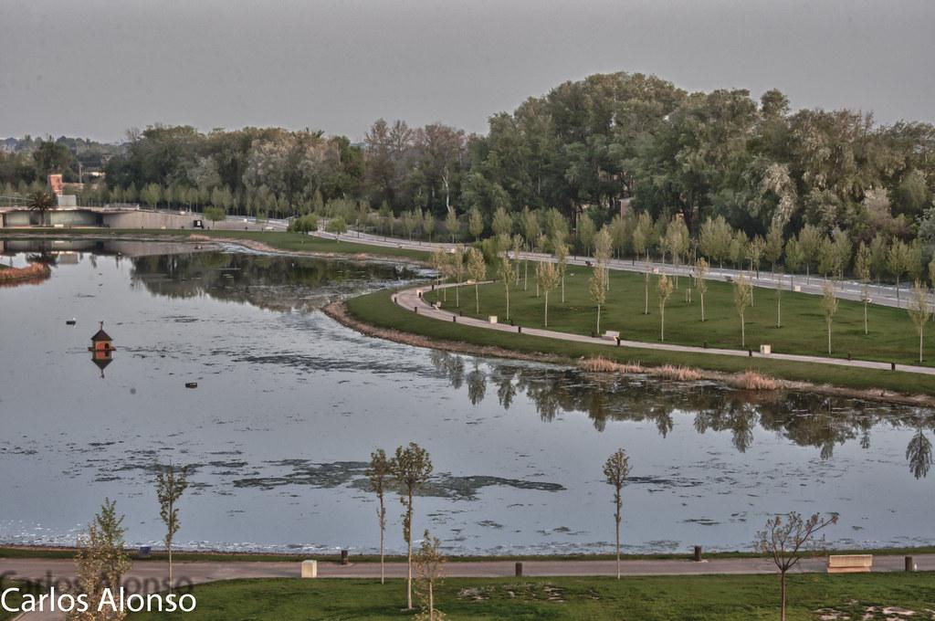 Lago Parque Lineal Plaza Zaragoza Carlos Flickr