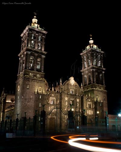 Catedral Poblana desde portales.