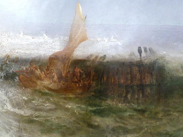 JMW Turner - Ostende, detail (1844)