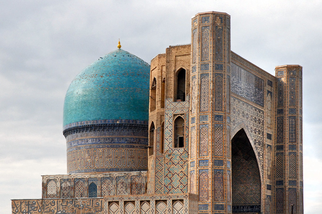 La mosquée Bibi Khanoum (Samarcande, Ouzbékistan) | Le bâtim… | Flickr