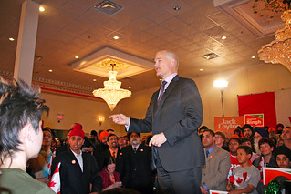 Jack Layton at the Brampton Rally | by Jagtar Shergill