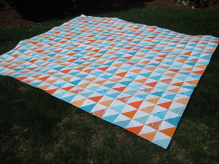 finished quilt top | by Just Tory